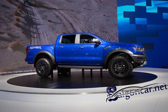 Ford Ranger Raptor cho mạng mộc