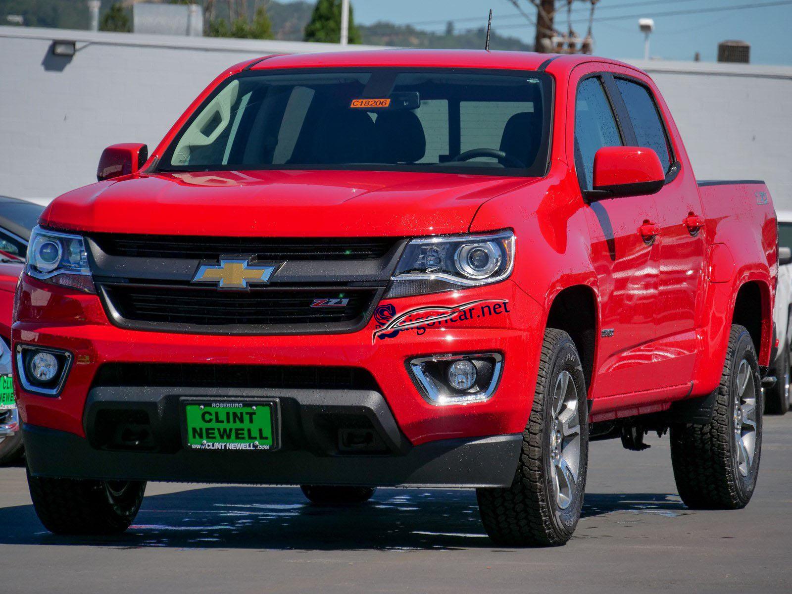 Đầu xe Chevrolet Colorado 2019