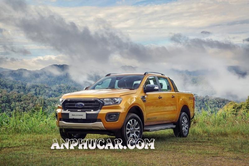 Đầu xe Ford Ranger 2019