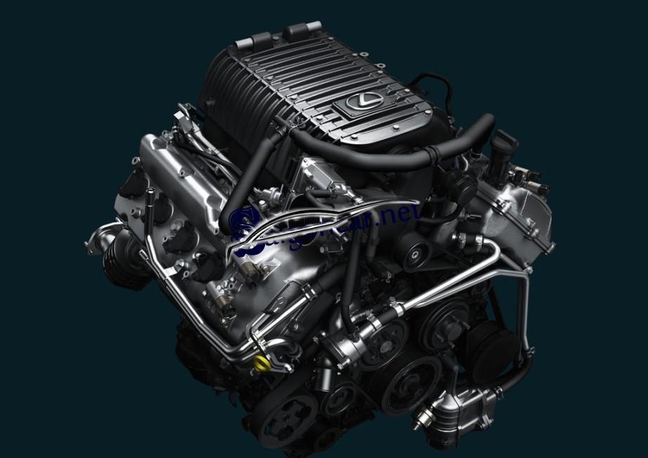 Động cơ Lexus LX 570 2019