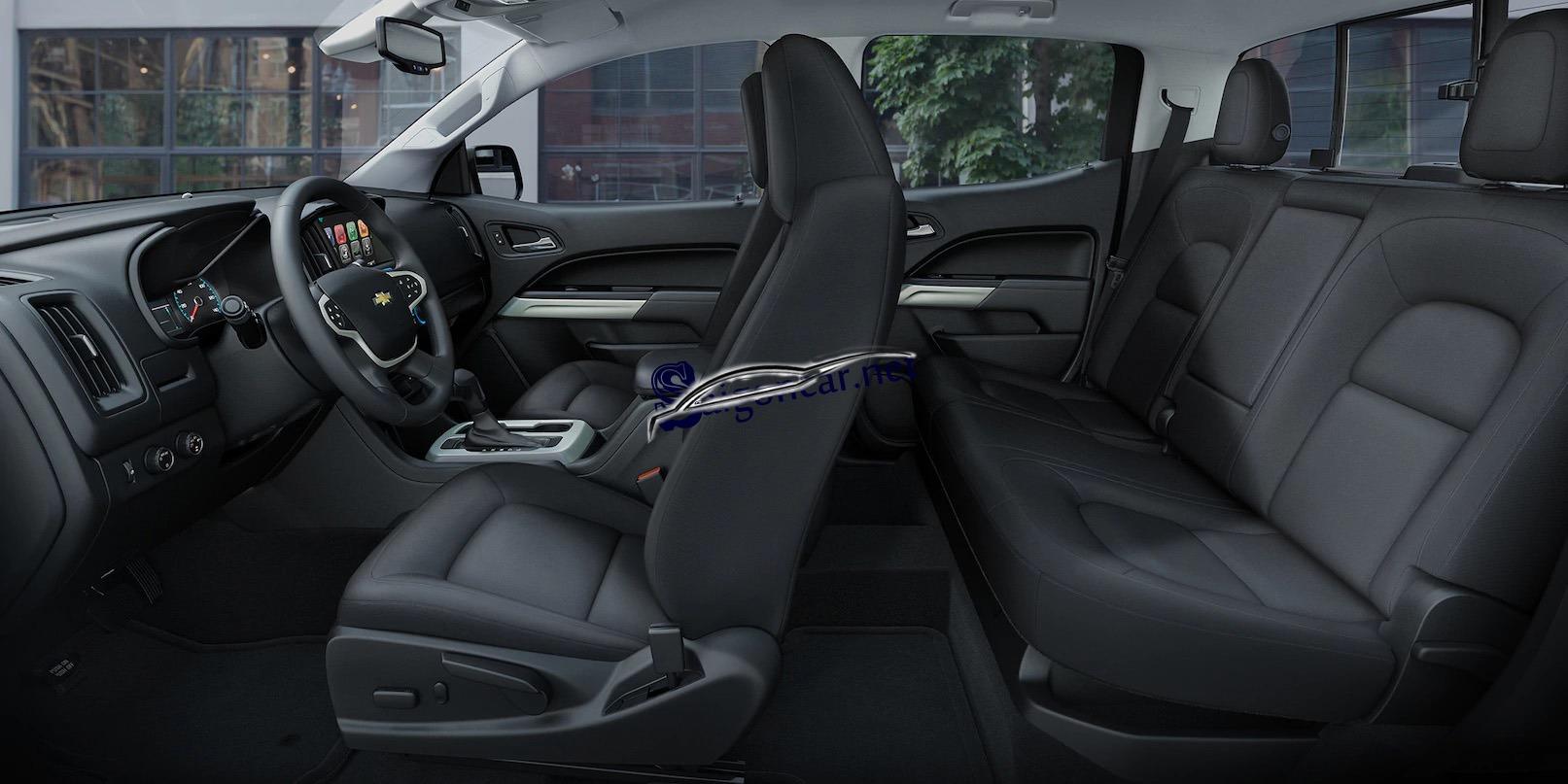 Không gian nội thất sang trọng Chevrolet Colorado 2019