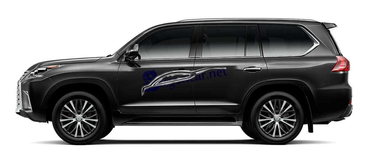 Thân xe Lexus LX 570 2019