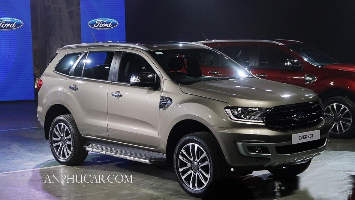 So sánh 3 phiên bản Ford Everest 2019