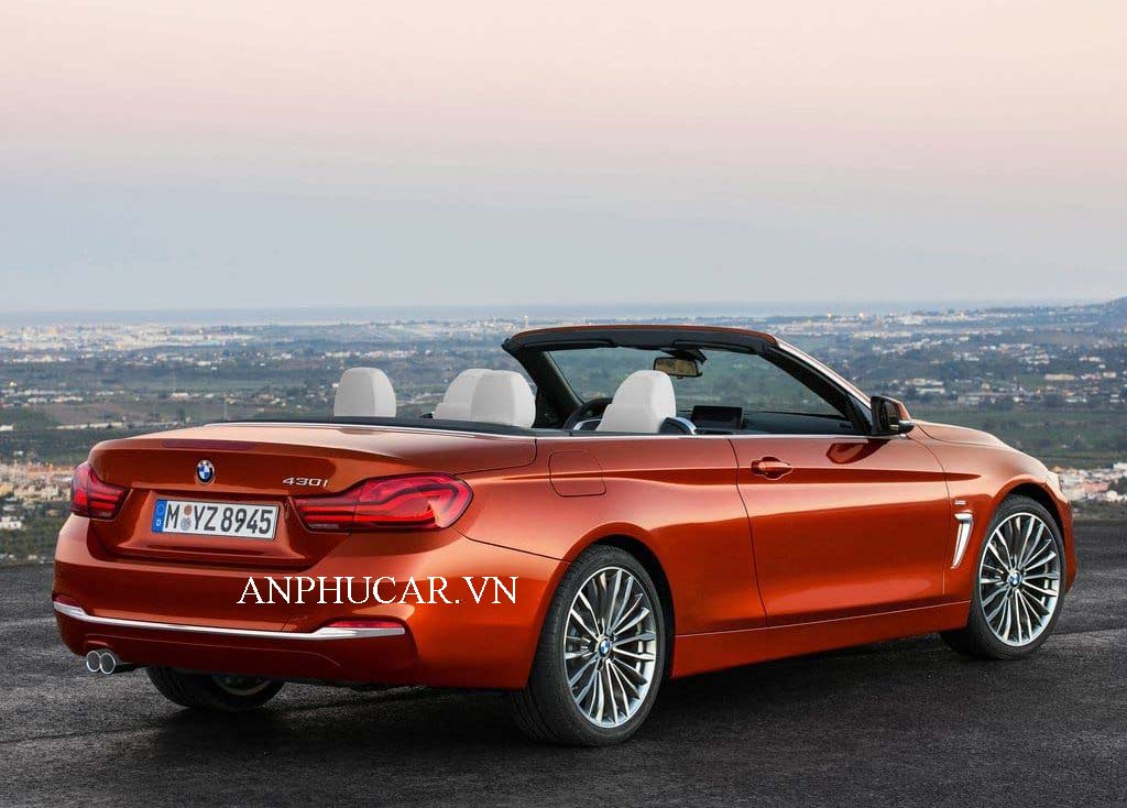 Khuyến mãi mua xe BMW 428i Convertible mui trần