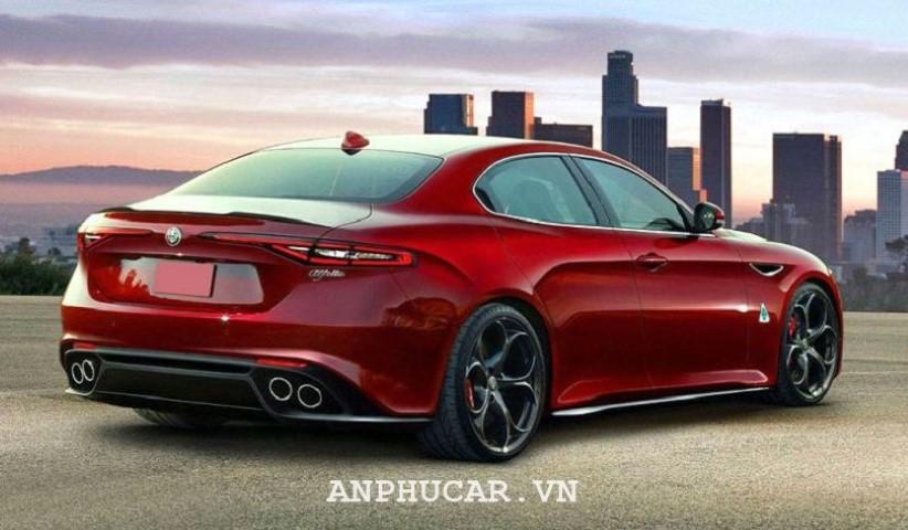 Alfa Romeo Quadrifoglio 2020 dien mao an tuong