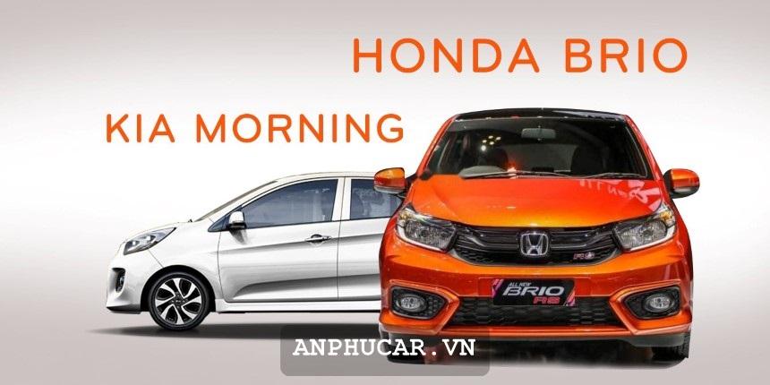 Kia Morning 1.25 AT 2020 Honda Brio