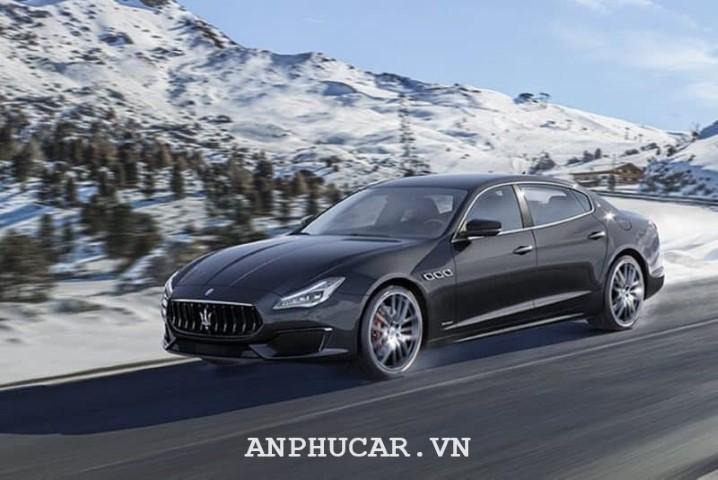 Maserati Quattroporte 2020 ngoai that hien dai
