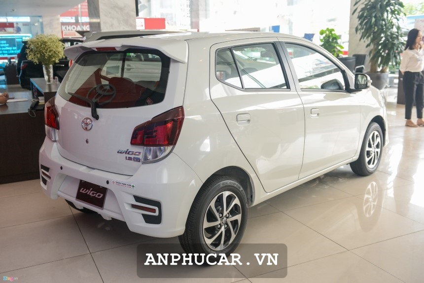 Toyota Wigo 2020 Duoi Xe