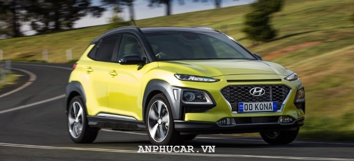 Hyundai Kona 1.6 Turbo 2020 danh gia