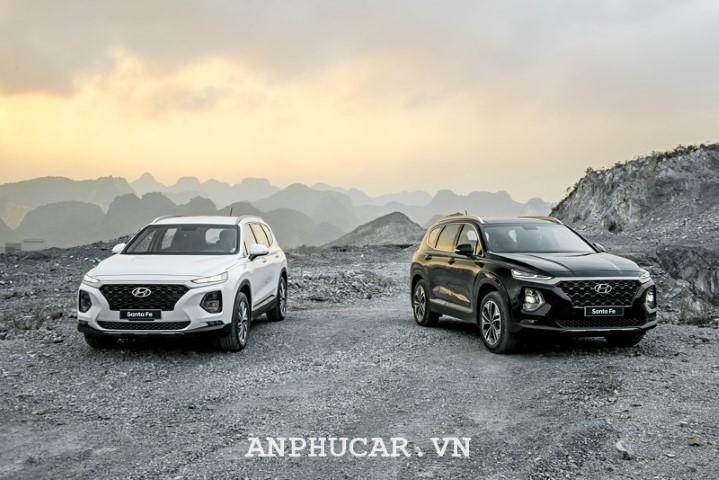 Đánh giá chi tiết mẫu xe Hyundai Santafe 2.4AT 4WD 2020
