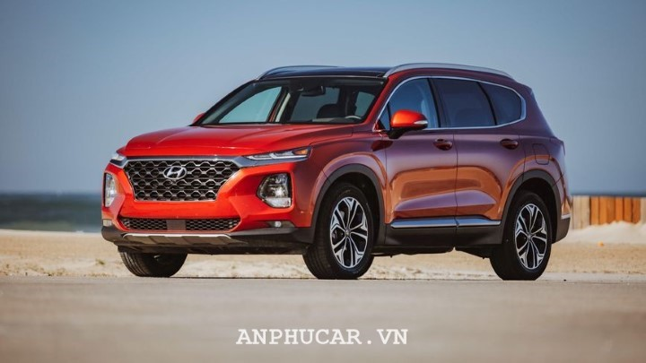 Hyundai Santafe 2.4AT 4WD 2020 danh gia xe