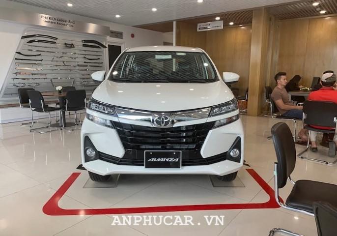 Chi tiết về mẫu xe 7 chỗ Toyota Avanza 1.3 MT 2020