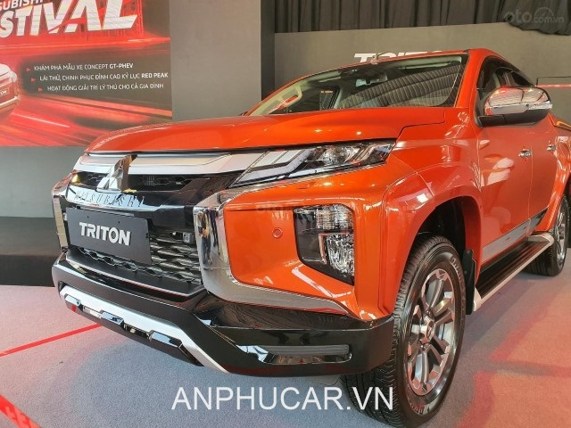 dau xe Mitsubishi Triton 2020