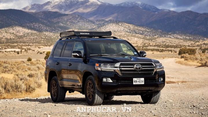 Toyota Land Cruiser thế hệ 2020 phiên bản nâng cấp đắt giá