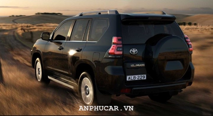 Toyota Land Cruiser 2020 van hanh